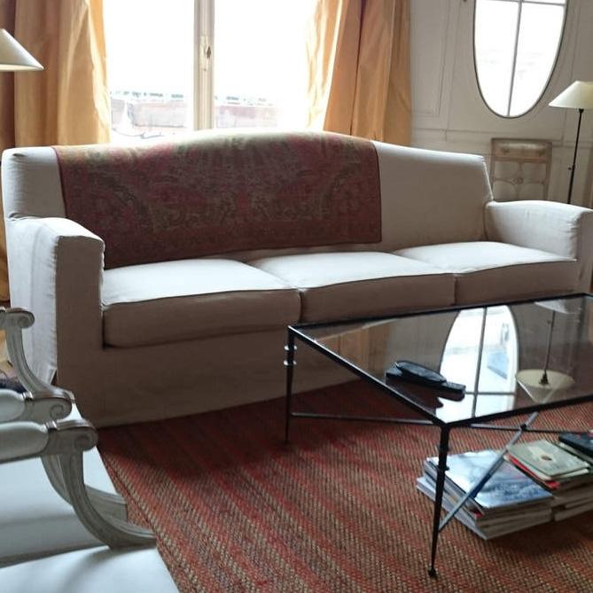 Housse de canapé «Brousse Sofa» de Christian Liaigre