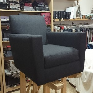 housse de fauteuil sur mesure