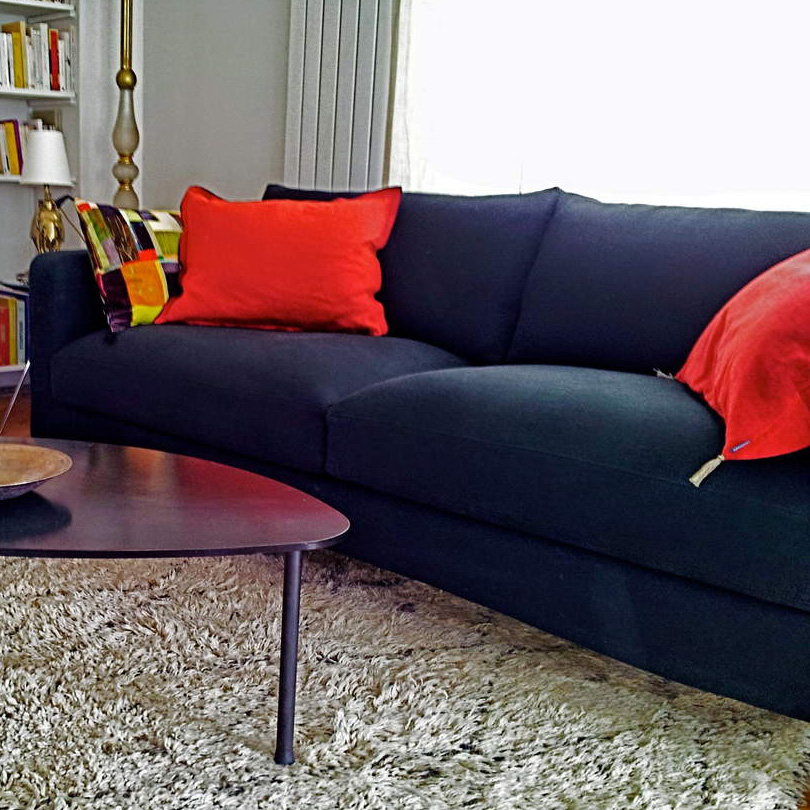 housse de canapé sur mesure en lin kvadrat