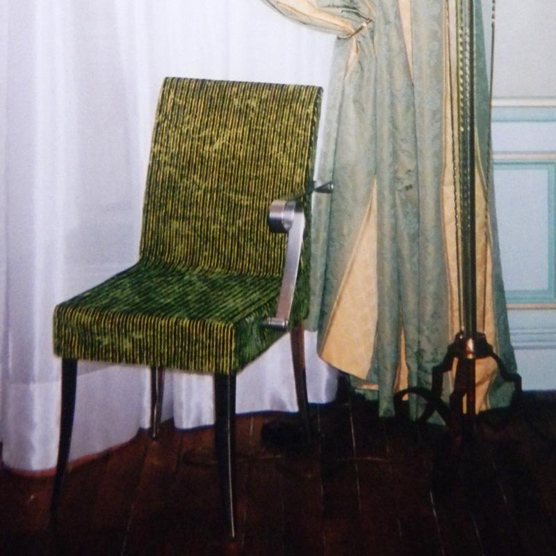 housse de chaise design sur mesure
