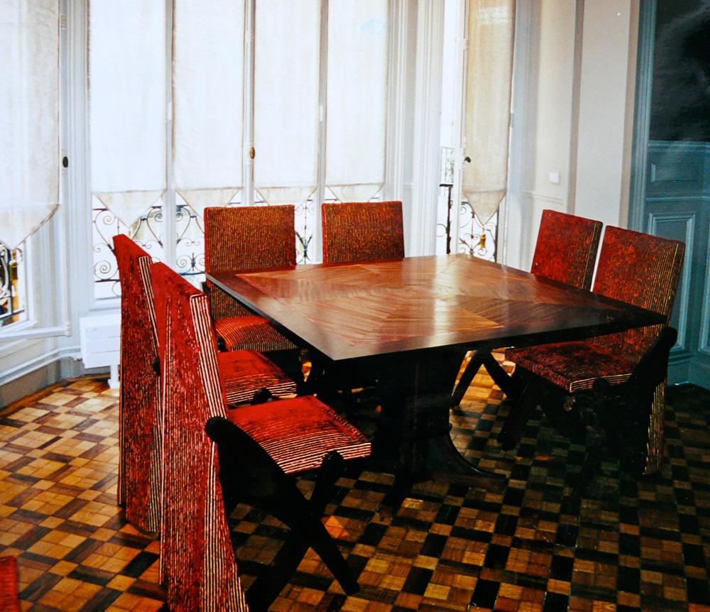 housse de chaise pliante housse de canap sur mesure. Black Bedroom Furniture Sets. Home Design Ideas