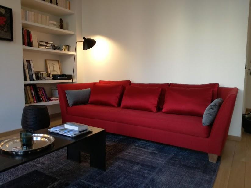 Housse de canapé et méridienne Christian Liaigre