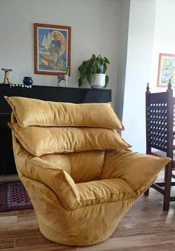 Housse de canapé sur mesure, ensemble contemporain Alcantaraara