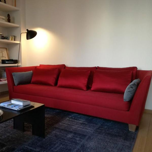 housse de canapé sur mesure meridienne liaigre