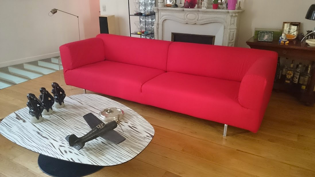housse de canap 250 met de cassina housse de canap. Black Bedroom Furniture Sets. Home Design Ideas
