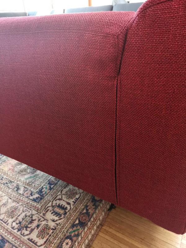 Housse de canapé sur mesure, méridienne Met de Cassina