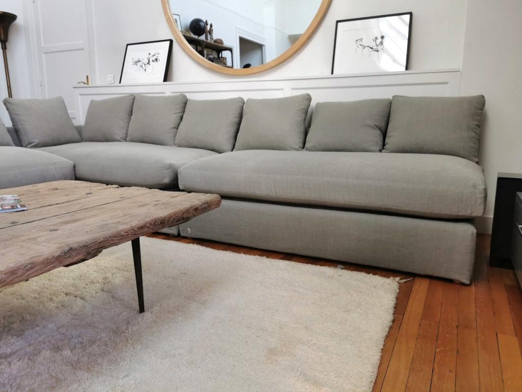 housse de canapé sur mesure XXL